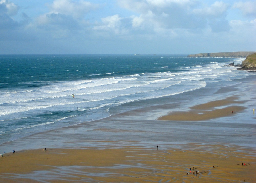 View Over Watergate Bay