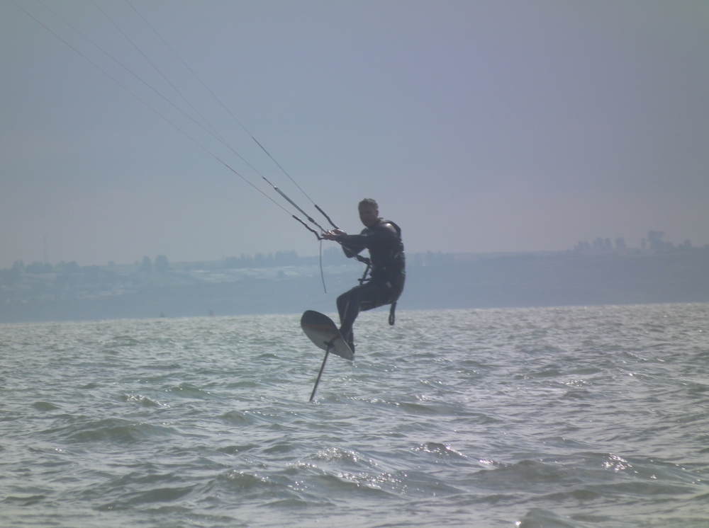 Terry Owning his hydrofoil