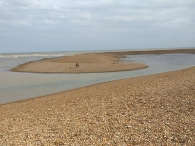 Lagoons at low tide